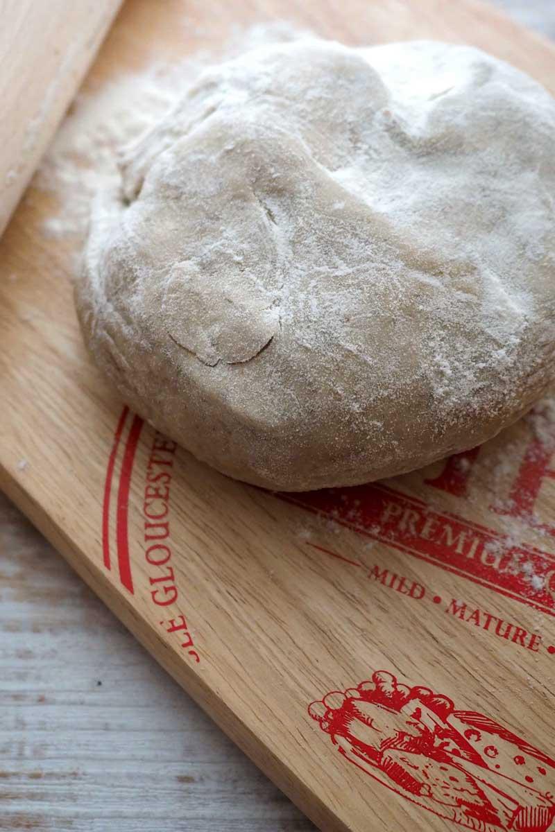 Pasta brisée integrale