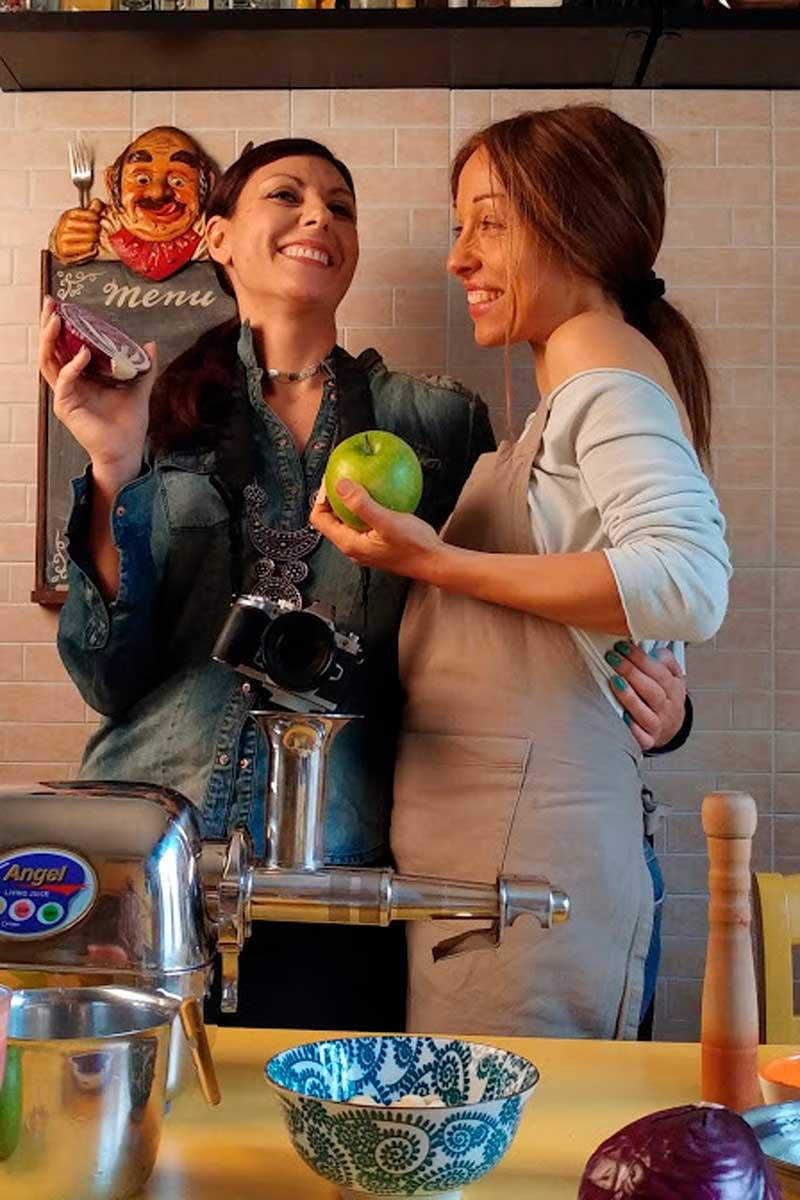 Cucina crudista ed estratti: consigli, ricette e trucchi di Chiara Giofrè