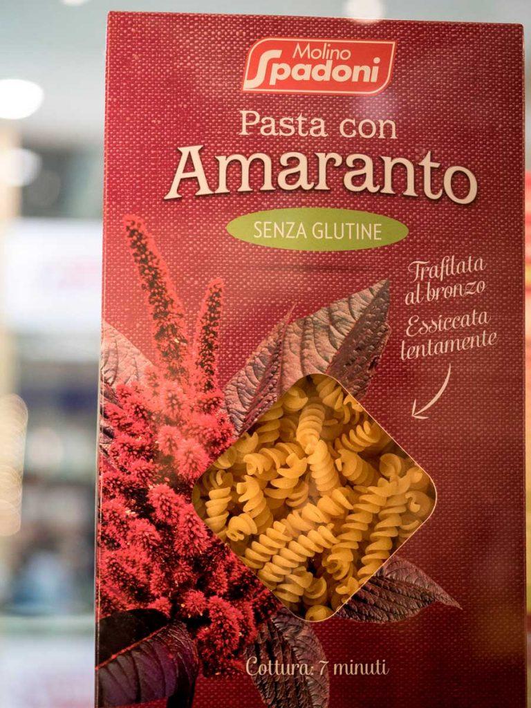 Molino Spadoni: pasta con Amaranto