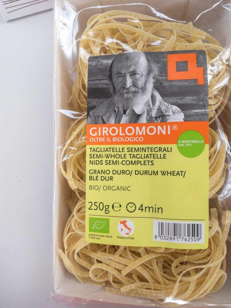 Tagliatelle semintegrali – Girolomoni